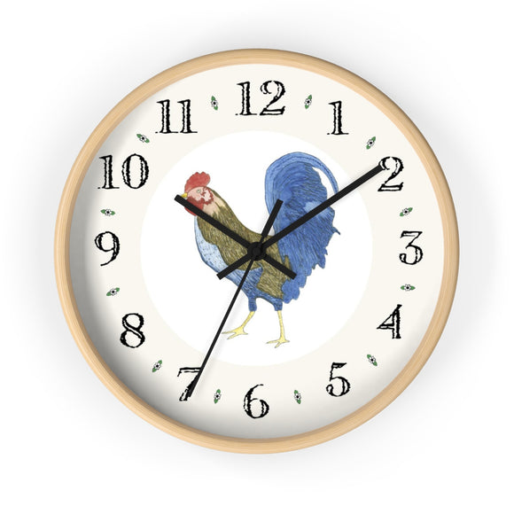Gabriel Rooster Heirloom Designer Clock