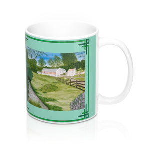 Trout Stream Mug by Lee M. Buchanan