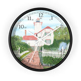 Gardens At Hereford Inlet English Numeral Clock