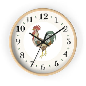 Joseph Rooster Heirloom Designer Clock