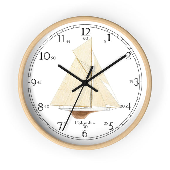 Columbia English Numeral Clock