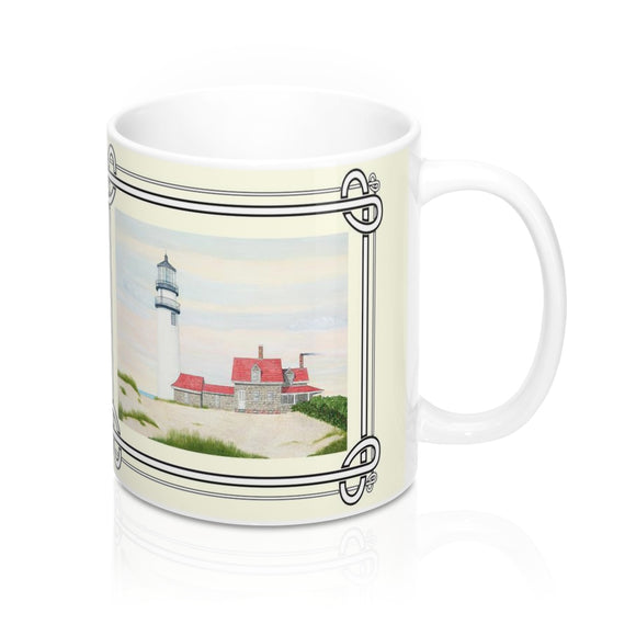 Stiff Breeze At Day's End Mug by Lee M. Buchanan