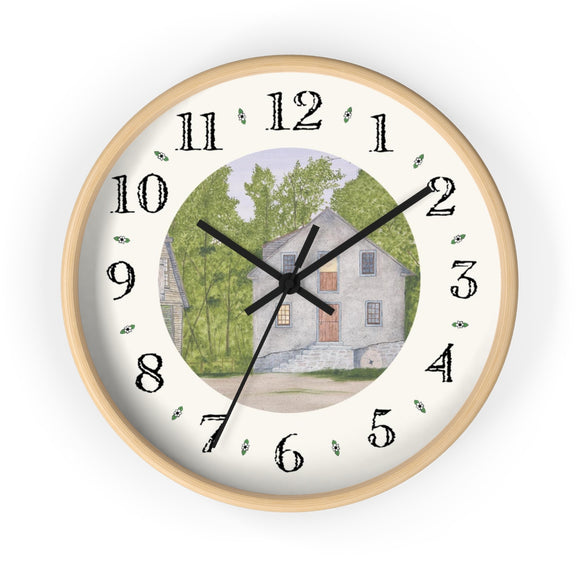 Long Day At The Mill Heirloom Designer Clock
