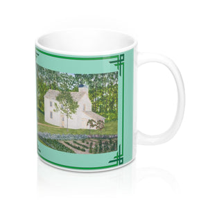 Country Garden Mug by Lee M. Buchanan