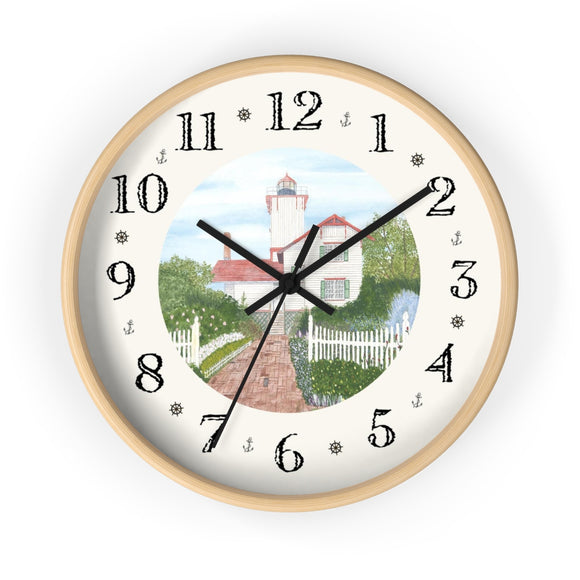 Gardens At Hereford Inlet Heirloom Designer Clock