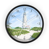 Dunes At Great Point Light English Numeral Clock