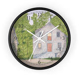 Long Day At The Mill English Numeral Clock