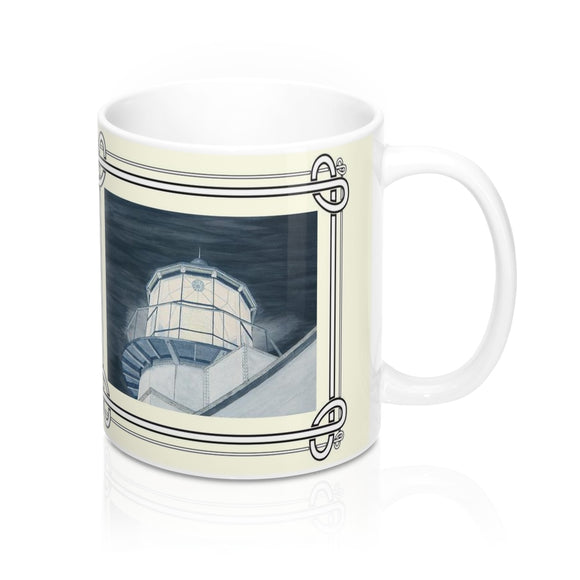 Night Watch Over The Bay Mug by Lee M. Buchanan