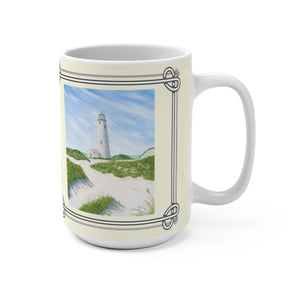 Dunes At Great Point Light 15 oz Mug