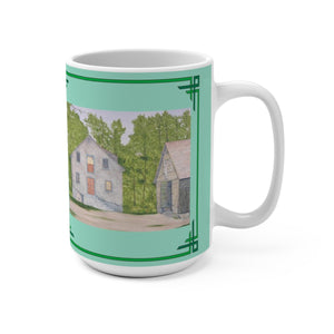 Long Day At The Mill 15 oz Mug by Lee M. Buchanan