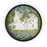 Country Garden English Numeral Clock