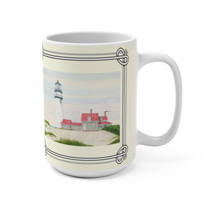 Stiff Breeze At Day's End 11 oz Mug by Lee M. Buchanan