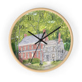 Manor House In Spring English Numeral Clock
