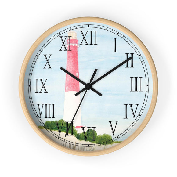 Barnegat Lighthouse Roman Numeral Clock