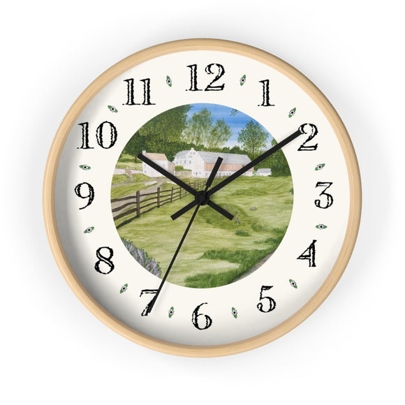 Trout Stream Heirloom Designer Clock
