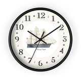 Clipper Flying Cloud Heirloom Designer Clock