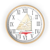 Cape Cod Catboat Sea Hound Roman Numeral Clock
