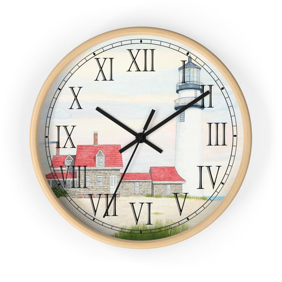 Stiff Breeze At Day's End Roman Numeral Clock