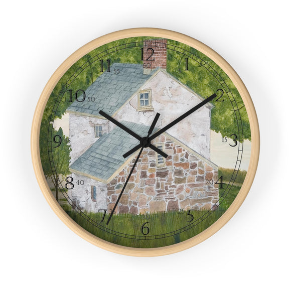 Manor House By The Glen English Numeral Clock
