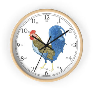 Gabriel Rooster English Numeral Clock