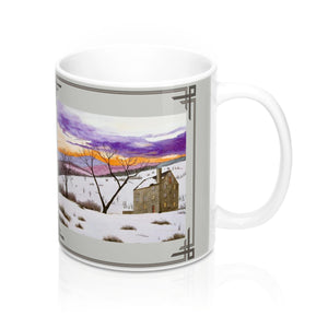 Shades of Winter Mug by Lee M. Buchanan