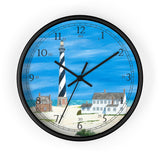 Good Ole Times At Cape Hatteras English Numeral Clock