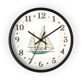 Clipper Bowed Cruising Ketch Heirloom Designer Clock