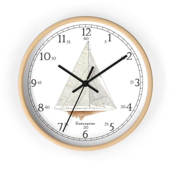 Enterprise English Numeral Clock
