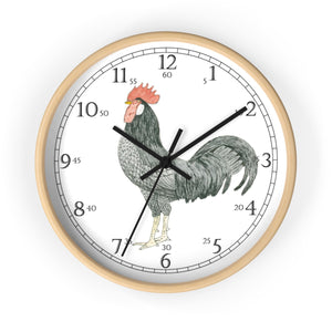 Adam Rooster English Numeral Clock