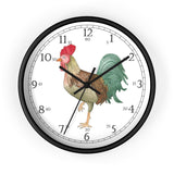 Michael Rooster English Numeral Clock