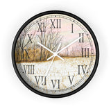 First Snow Roman Numeral Clock