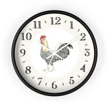 Charlie Rooster Heirloom Designer Clock