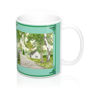 Country Lane And Fence Mug