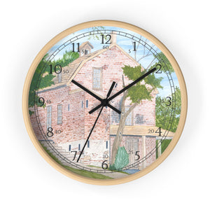 Village General Store English Numeral Clock