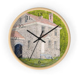 Manor House In Summer English Numeral Clock