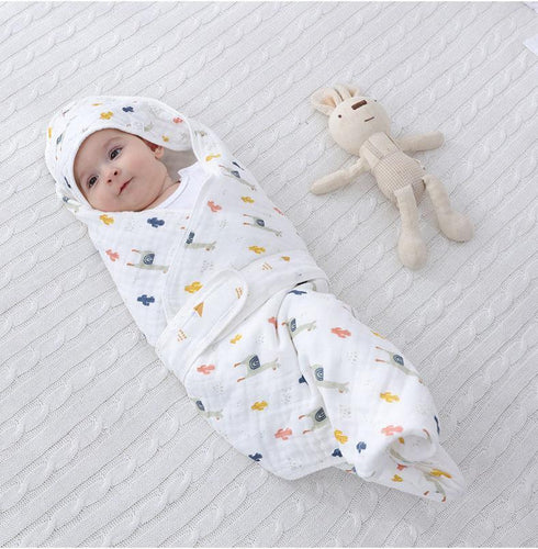 Baby Swaddle Blankets for Newborn Boys and Girls | 0-6 Month|