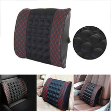 Load image into Gallery viewer, Car Lumbar Electric Massage Waist Pillow