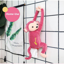 Load image into Gallery viewer, Lovely Monkey Tissue Holder For Home And Car