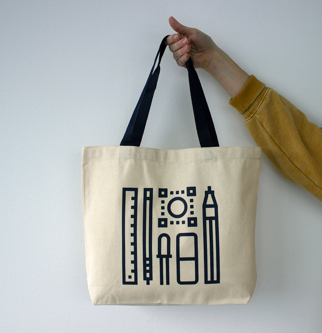 Canvas Tote: Designed by Brock