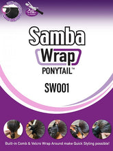 Load image into Gallery viewer, Samba Wrap Ponytail SW001