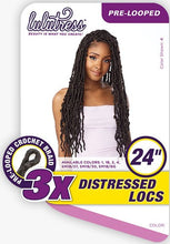 Load image into Gallery viewer, Sensationnel 3X Distressed locs 24""