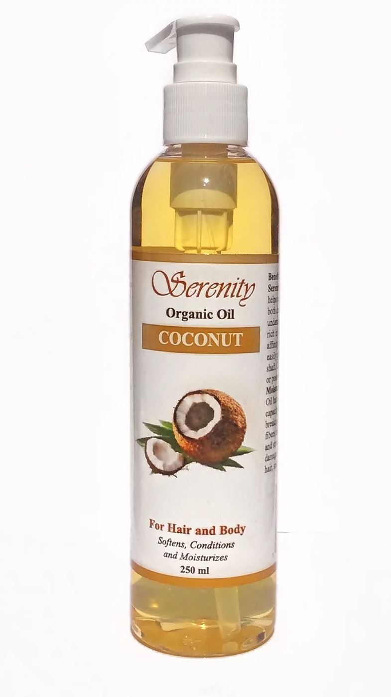 Serenity Organic Coconut Oil 8 oz