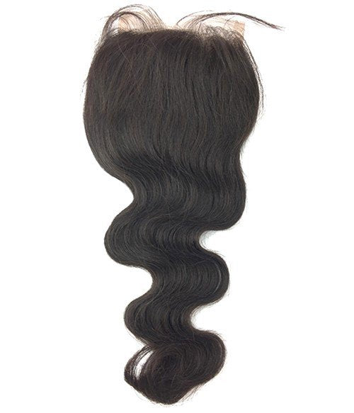 Body Wave 4 x 4 Free Part Closure