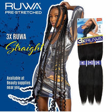 Load image into Gallery viewer, 3X RUWA PRE-LAYERED BRAID 24""