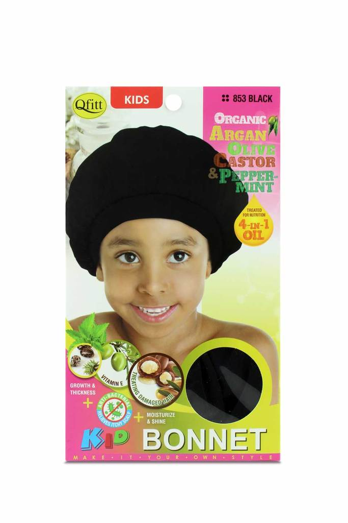 Olive Oil & Shea Butter Kids Bonnet #853