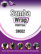 Load image into Gallery viewer, Samba Wrap Ponytail SW002