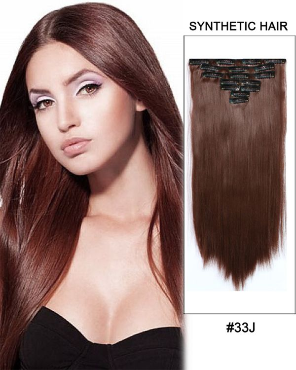Natural Way Synthetic Clip In 7 Pcs 18