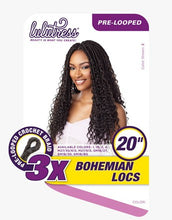 Load image into Gallery viewer, Lulutress 3X Bohemian Locs 20""