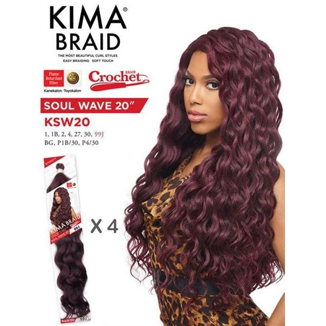 Kima Braid Soul Wave 20''
