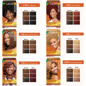 Creme Of Nature Moisture Rich Hair Color